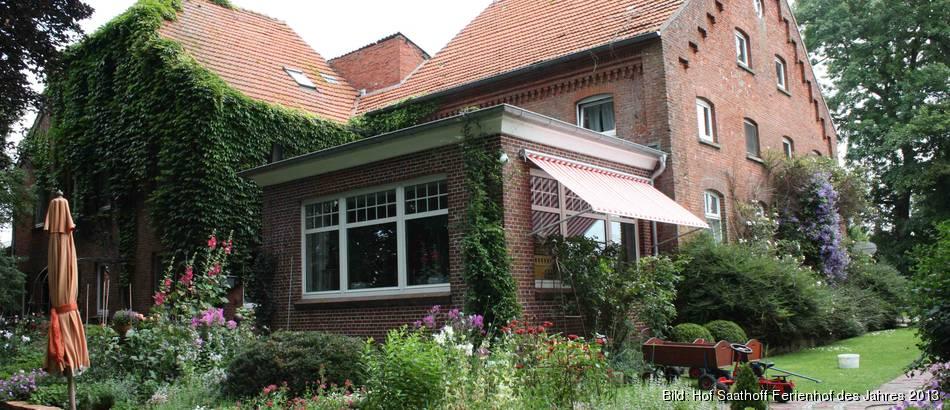 Beliebtester Ferienhof des Jahres 2017 - Hof Saathoff