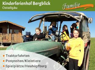 Kinderferienhof Bergblick - Jubiläumstipp