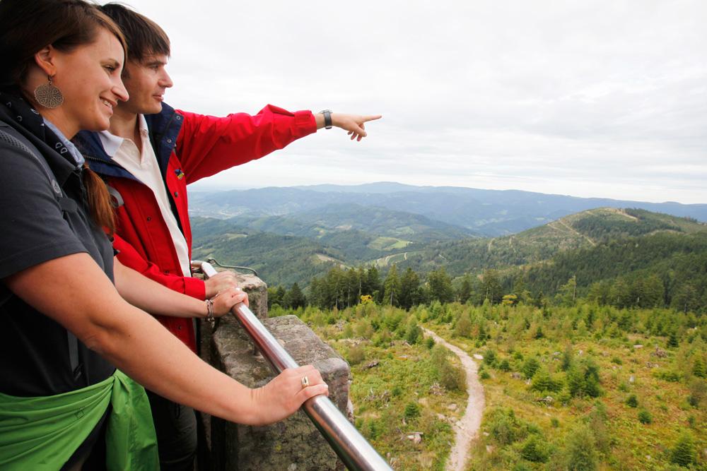 Aussicht vom Moosturm - © Renchtal Tourismus