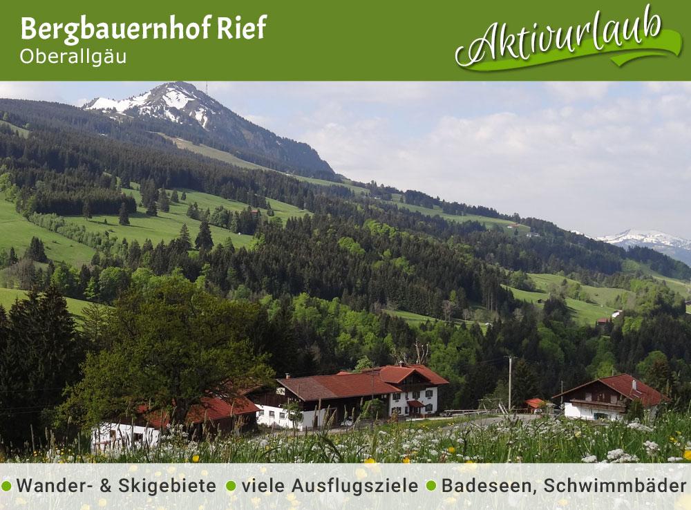 Bergbauernhof Rief- Jubiläumstipp
