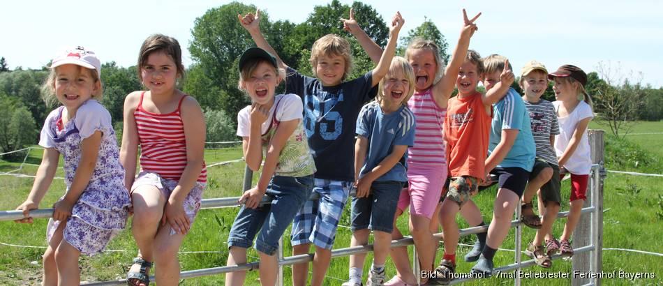 Beliebtester Ferienhof des Jahres 2017 - Thomahof