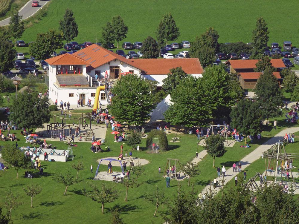 Gelände des Wildparks Oberreith