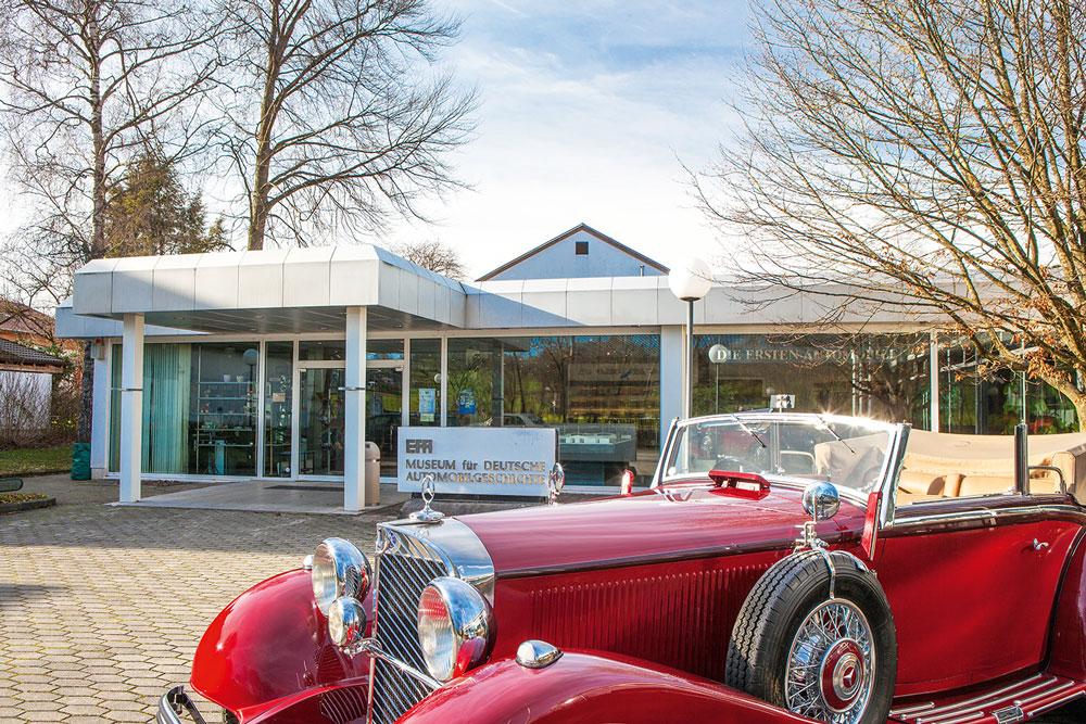 Interessantes im Museum für Deutsche Automobilgeschichte EFA in Amerang