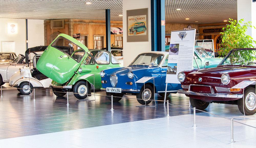 Altes & Schönes im Museum für Deutsche Automobilgeschichte EFA in Amerang