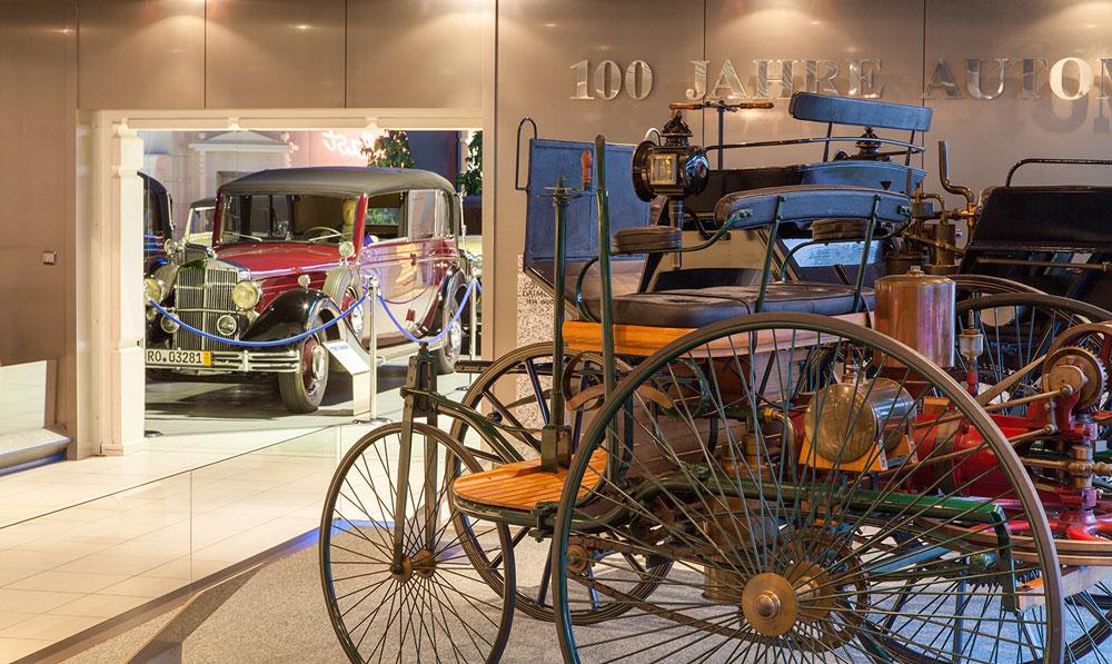 Historisches im Museum für Deutsche Automobilgeschichte EFA in Amerang