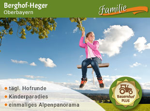 Berghof-Heger - Jubiläumstipp