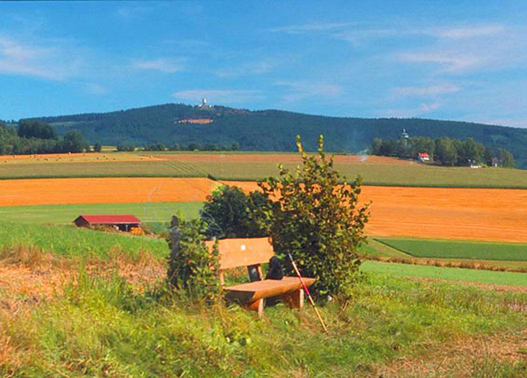 Blick zum Tillenberg