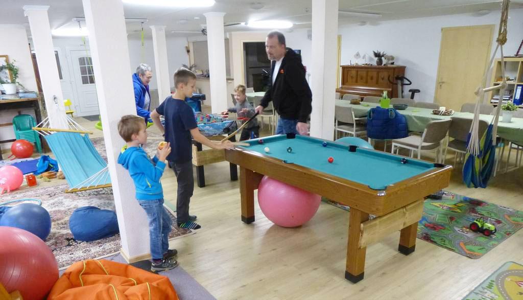 Indoor-Spielmöglichkeit auf dem Deichhof Ketelsen