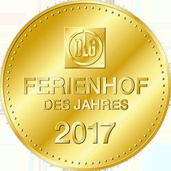 """DLG Ferienhof des Jahres 2017 - """"Beliebtesten Ferienhöfe"""" Deutschlands"""