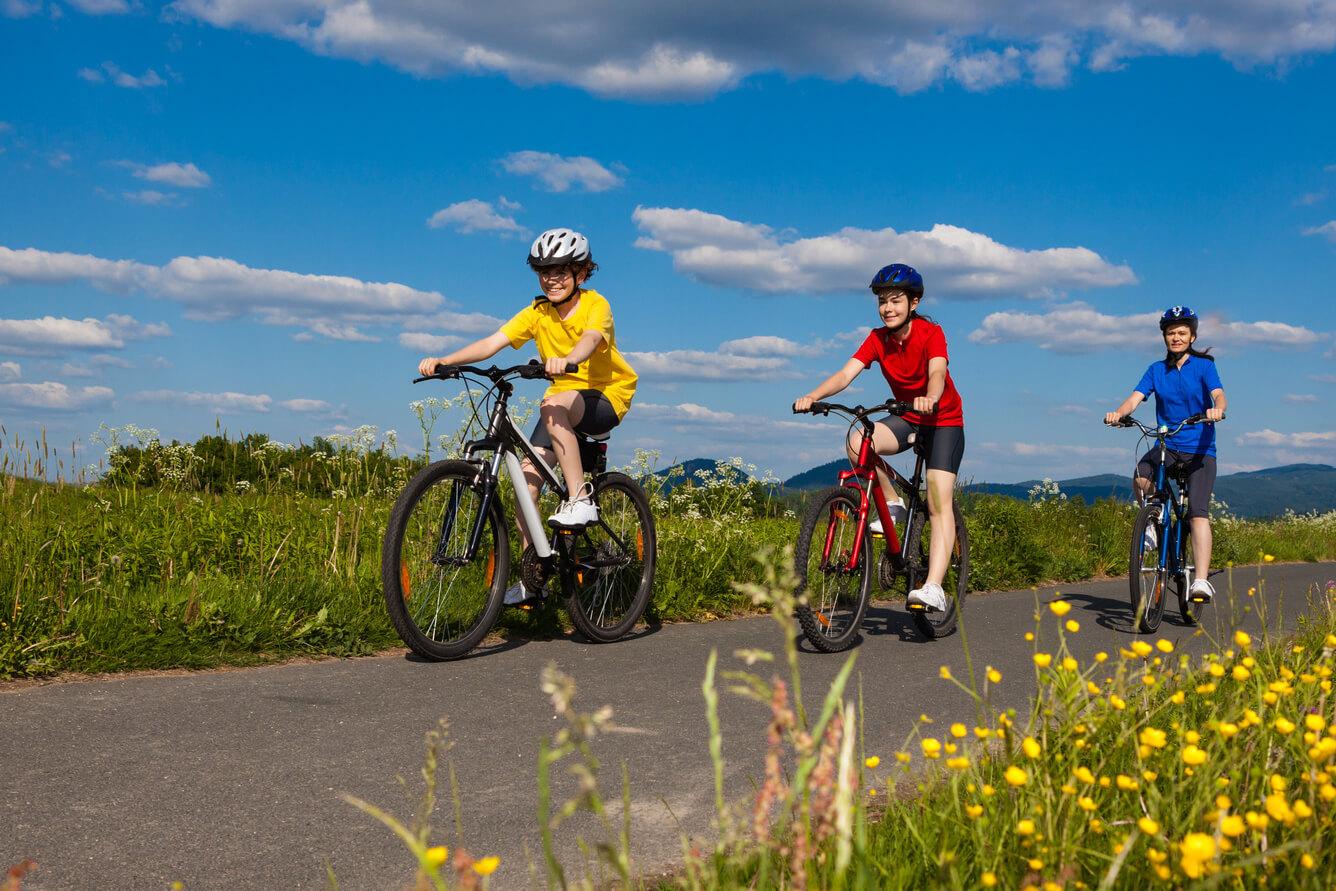 Spannende Fahrradtouren mit der ganzen Familie erleben