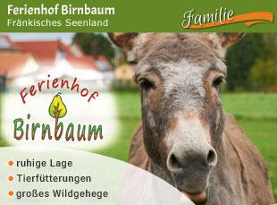 Ferienhof Birnbaum - Jubiläumstipp