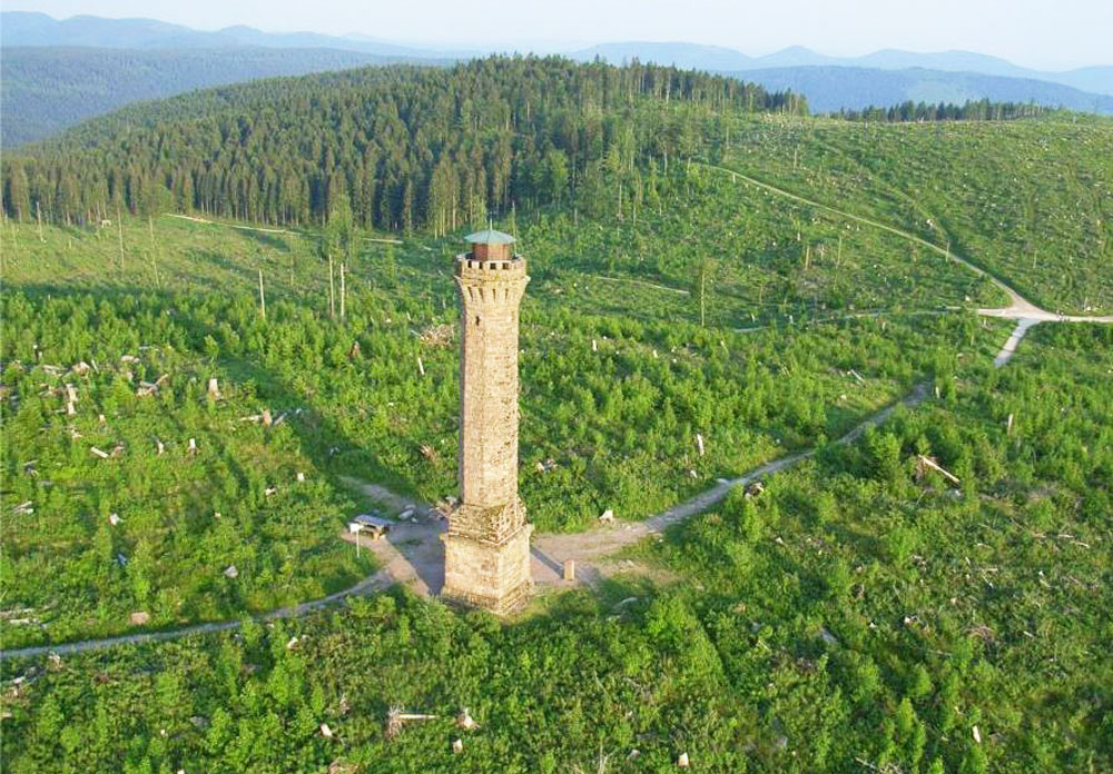 Der Moosturm bei Lautenbach - © Touristinfo Durbach