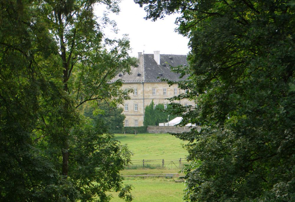 Schloss Tambach - Der Wildpark Tambach mit spannender Greifvogelvorführung