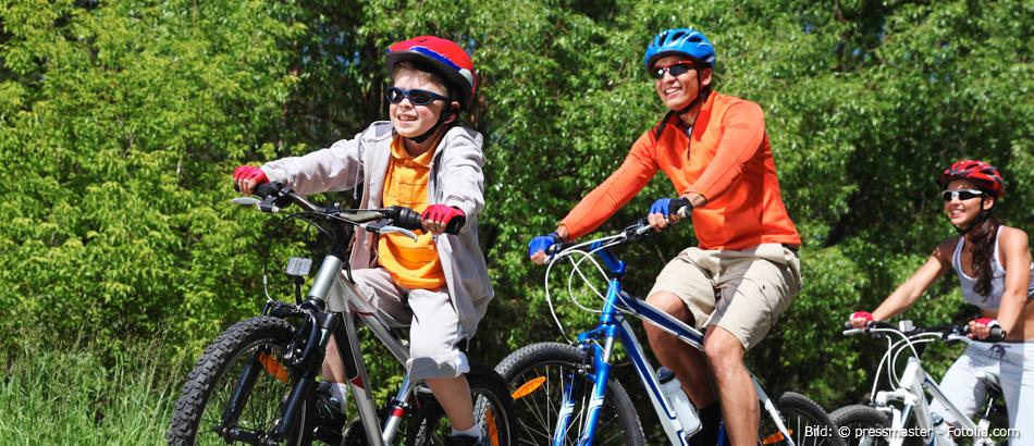 Fahrradspaß für die ganze Familie