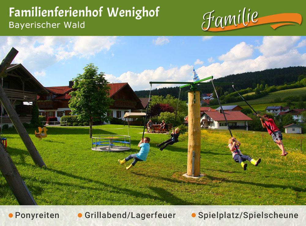 Familienferienhof Wenighof - Jubiläumstipp